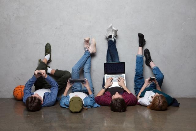 大人の室内の遊び道具はインターネットとパソコン